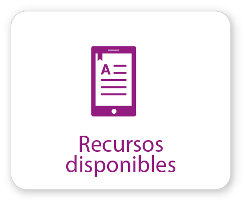 Recursos disponibles