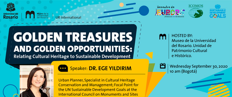 Golden Treasures and Golden Opportunities: Relating Cultural Heritage to Sustainable Development