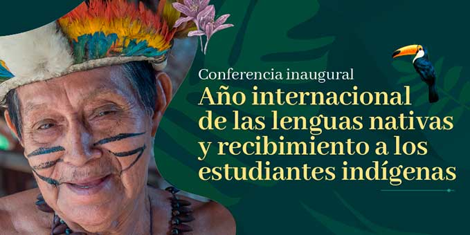 Ciclo de Conferencias, año internacional de las lenguas nativas